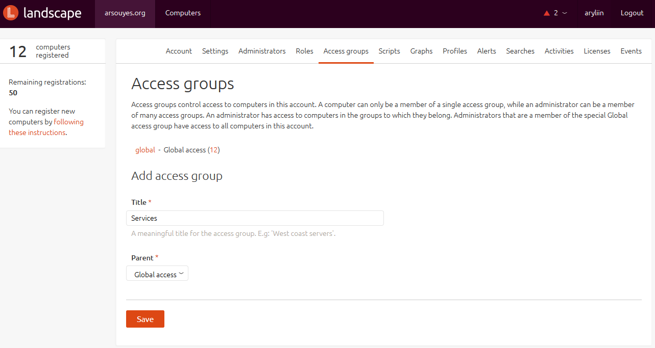 access groups